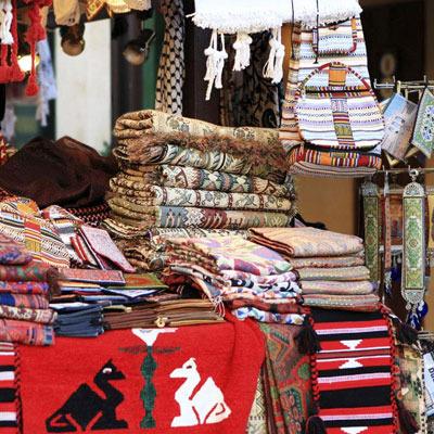 Souvenirs and handicrafts at Meena Bazaar